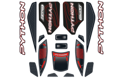 Team Corally - Body Decal Sheet  - Python XP 6S - 1 pc
