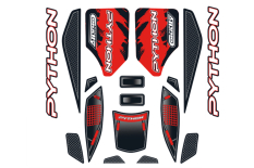 Team Corally - Body Decal Sheet  - Python XP 6S - 2021 - 1 pc