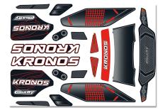 Team Corally - Body Decal Sheet  - Kronos XP 6S - 1 pc