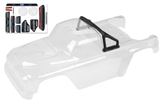 Team Corally - Polycarbonate Body - Dementor XP 6S - Clear - Cut - 1 pc