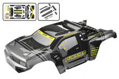 Team Corally - Polycarbonate Body - Punisher XP - 2021 - Painted - Cut - 1 pc