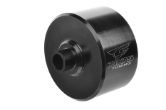 Team Corally - Xtreme Diff Case - 30mm - Aluminium 7075 - Hard Anodised - Black - Front / Rear - Made in Italy - 1 pc