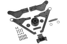 Team Corally - Wheelie Bar 2021 - 1 Wheel version - Complete Set