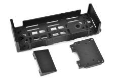 Team Corally - Battery ESC Tray - V2 - Large - Composite - 1 Pc