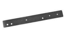 Team Corally - Chassis Stiffener Sheet - XTR - Rear - Graphite 3mm - 1 Pc