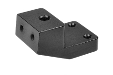 Team Corally - Steering Deck Holder - XTR - Aluminum - Black - 1 Pc