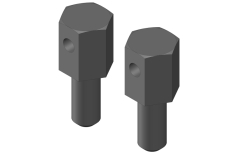Battery Brace Screws - 2 pcs