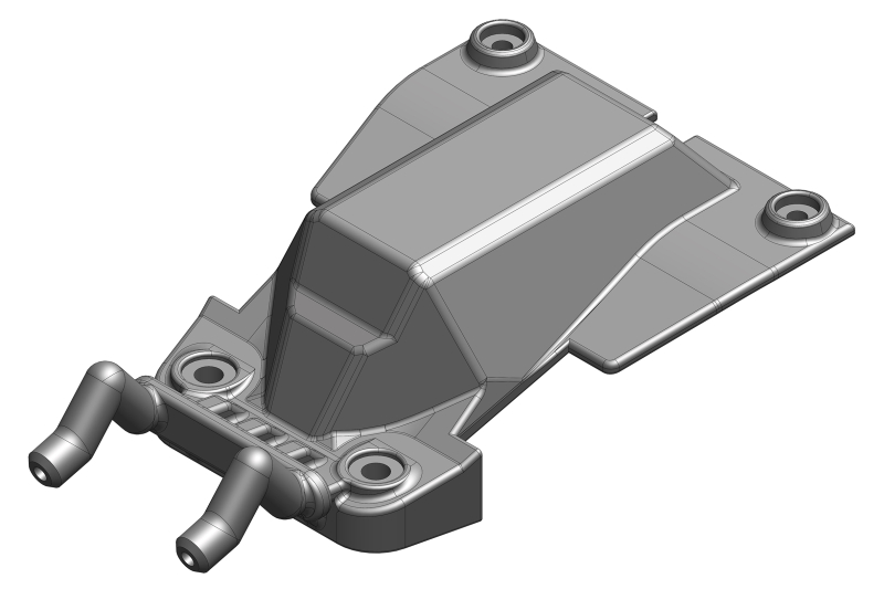 Team Corally - Chassis Servo Cover - Composite