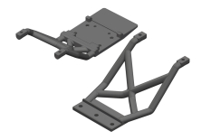Team Corally - Skid Plates - FR/RE - 1 Set