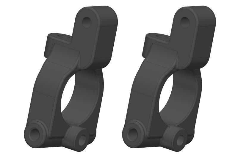Team Corally - Caster Blocks - Composite - 2 pcs
