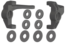 Steering Block - L/R - Composite - 1 Set