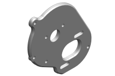 Team Corally - Motor Mount Plate - Aluminium