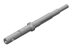 Input Shaft - Slipper Shaft - Steel