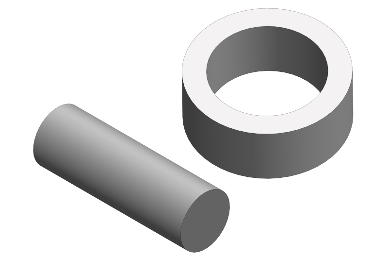 Team Corally - Stub Axle Pin - for slipper shaft - Steel
