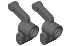 Team Corally - Hub - Rear - Composite - 2 Pcs