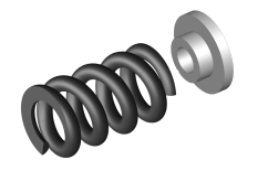 Team Corally - Slipper Clutch Spring - 1 pc + Washer