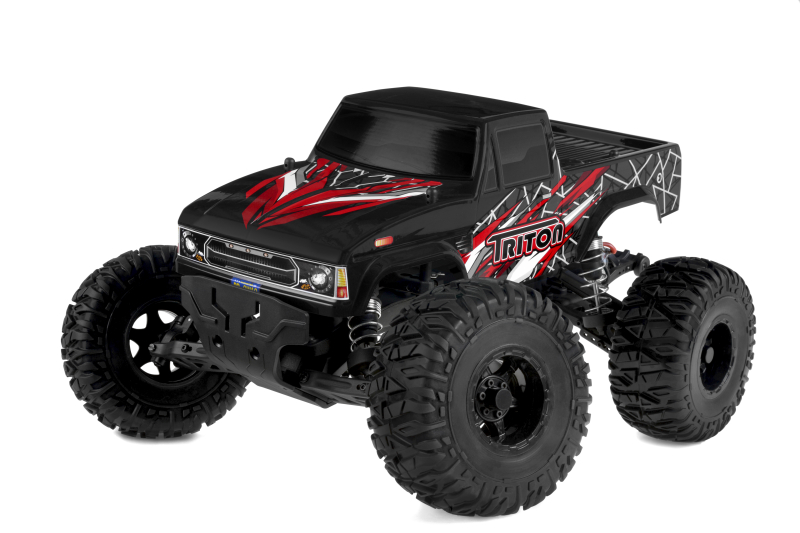 Team Corally - TRITON XP - 1/10 Monster Truck 2WD - RTR - Brushless Power 2-3S - No Battery - No Charger