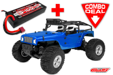 MOXOO SP Combo - w/ LiPo Battery TC Power Racing 50C 2S 5400mAh