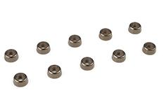 Team Corally - Aluminium Washer - for M2 Socket Head Screws - OD=6mm - Gun Metal - 10 pcs