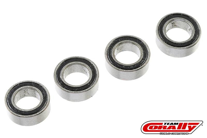 Team Corally - Ball Bearing ABEC 3 - 8 x 5 x 3mm - 4 pcs