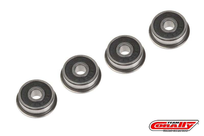 Team Corally - Ball Bearing - Abec 3 - 4x13x4 - Flanged - 4 pcs