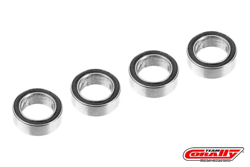 Team Corally - Ball Bearing ABEC 3 - 1/4 x 3/8 - 4 pcs