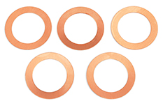 Team Corally - Head Shim 0.1mm Etor 21 3P and Etor 21 5-2P - 5 pcs