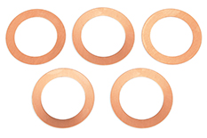 Team Corally - Head Shim 0.2mm Etor 21 3P and Etor 21 5-2P - 5 pcs