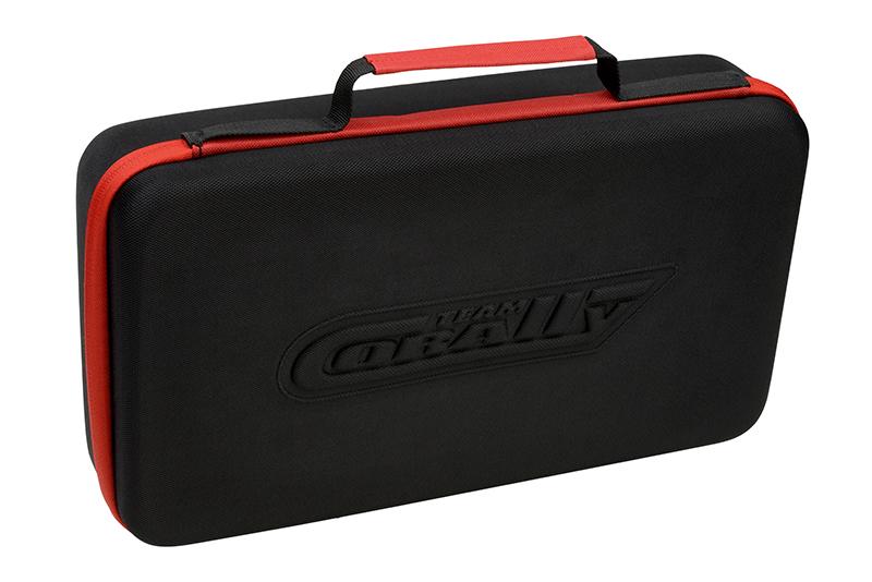 Team Corally - Charger - Eclips 2100 Duo - Limited Black Edition - AC/DC - 100W Power - LCD Display - (2X) 1-6 Li-Xx - 1-15 Ni-Xx