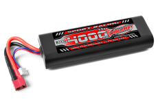Team Corally - Sport Racing 30C - 4000Mah - 2S - 7,4V - T-Plug - Hard Case