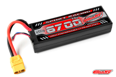 Team Corally - Sport Racing 50C - 6700Mah - 2S - 7,4V - XT-90 - Hard Case