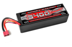 Team Corally - Sport Racing 50C - 5400Mah - 3S - 11,1V - T-PLUG - Hard Case