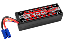 Team Corally - Sport Racing 50C - 5400Mah - 3S - 11,1V - EC-5 - Hard Case