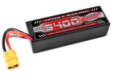 Team Corally - Sport Racing 50C - 5400Mah - 3S - 11,1V - XT-90 - Hard Case