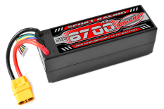 Team Corally - Sport Racing 50C - 6700Mah - 4S - 14,8V - XT-90 - Hard Case