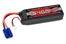 Team Corally - Sport Racing 50C - 5400Mah - 3S - 11,1V - EC-5 - Semi-Soft Case
