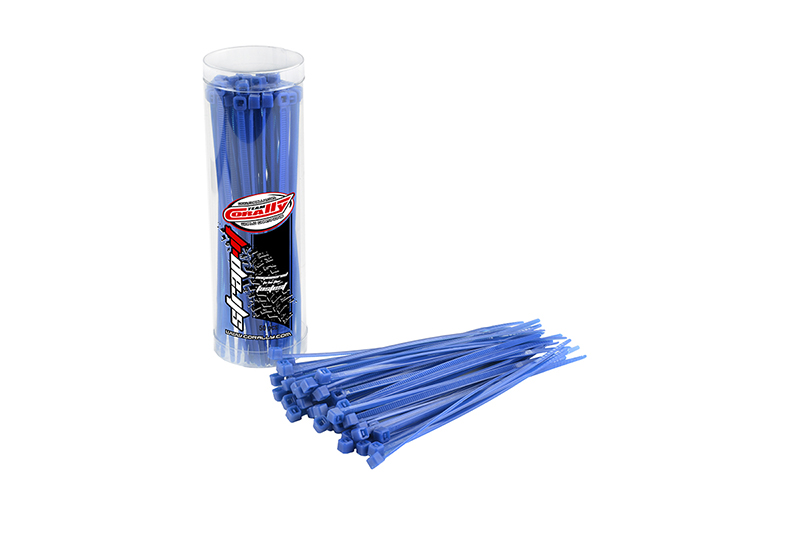 Team Corally - Strap-it - Cable Tie Raps - Blue - 2.5x100mm - 50 pcs