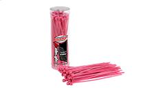 Team Corally - Strap-it - Cable Tie Raps - Pink - 2.5x100mm - 50 pcs