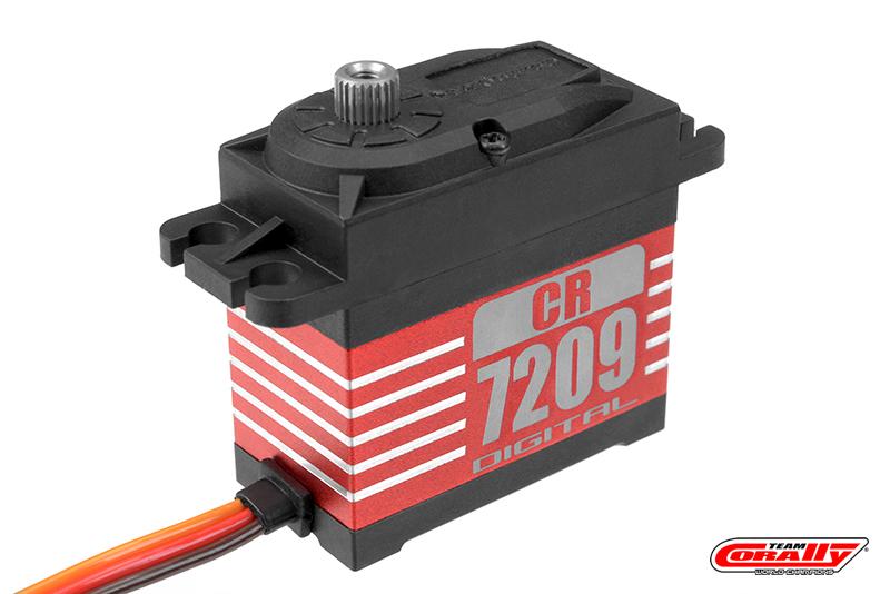Varioprop - Digital Servo - CR-7209-MG - Low Voltage - Core Motor - Metal Gear - 9 Kg Torque