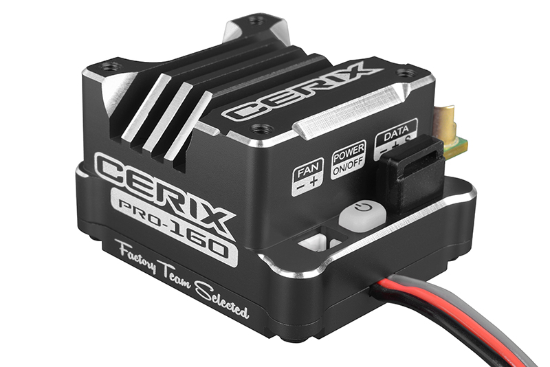 "Team Corally - Cerix PRO 160 ""Racing Factory"" - Black edition - 2-3S Esc For Sensored And Sensorless Motors - 160A"