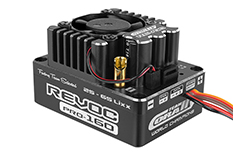 "Team Corally - Revoc PRO 160 ""Racing Factory"" - Black edition - 2-6S Esc For Sensored And Sensorless Motors - 160A"