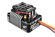 "Team Corally - Revoc II XTR 160 ""Racing Factory"" - Black - Silver Color - 2-6S Esc For Sensored And Sensorless Motors - 160A"