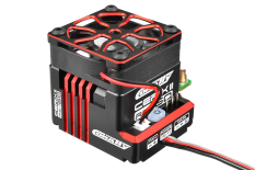 "Team Corally - Cerix II RS-160 ""Racing Factory"" - Black - Red Color - 2-3S Esc For Sensored And Sensorless Motors - 160A"