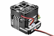 "Team Corally - Cerix II RS-160 ""Racing Factory"" - Black - Silver Color - 2-3S Esc For Sensored And Sensorless Motors - 160A"
