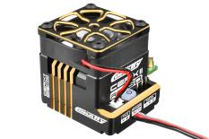 "Team Corally - Cerix II RS-160 ""Racing Factory"" - Black - Gold Color - 2-3S Esc For Sensored And Sensorless Motors - 160A"