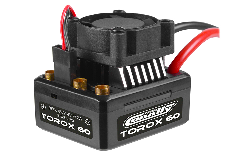 Speed Controller - TOROX 60 - Brushless - 2-3S