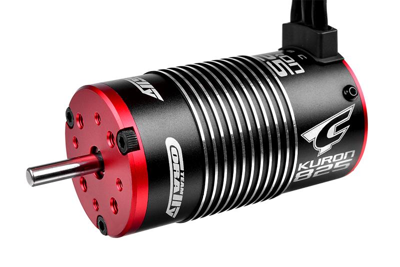 Electric Motor - Kuron 825 - 4-Pole - 2050 KV - Brushless - Sensorless - 1/8