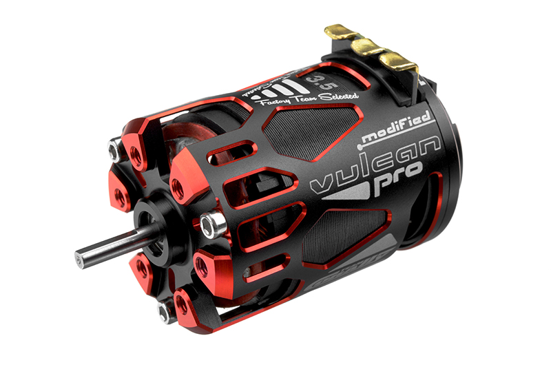 Team Corally - VULCAN PRO Modified - 1/10 Sensored Competition Brushless Motor - 3.5 Turns - 9100 KV
