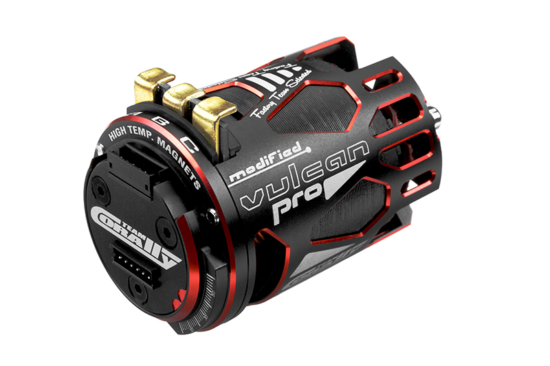 Team Corally - VULCAN PRO Modified - 1/10 Sensored Competition Brushless Motor - 5.5 Turns - 6450 KV