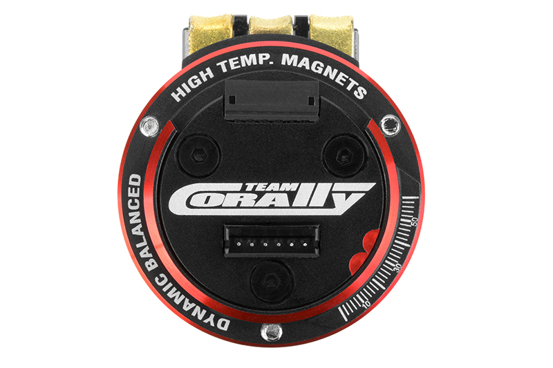 Team Corally - VULCAN PRO Modified - 1/10 Sensored Competition Brushless Motor - 6.5 Turns - 5350 KV